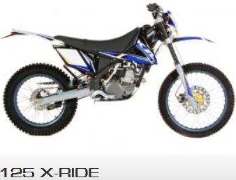 125 x-ride